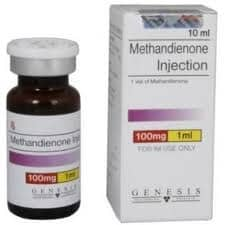 Methandienone Injection Genesis 10ml vial (100mg/ml)