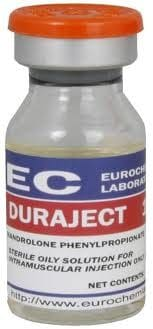 DuraJect (Nandrolone Phenylpropionate) EUROCHEM LABS 10 ml vial ( 100mg/ml)