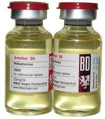 Averbol 25 British Dragon 10 ml (Methandienone,Dianabol) 250mg/ml