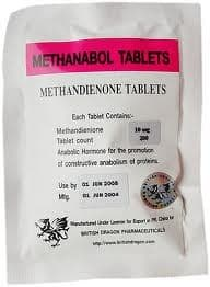 Methanabol tablets British Dragon 100 tabs (Methandienone,Dianabol) 10mg/tab