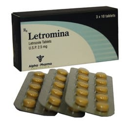 Letromina 2.5mg tablets Alpha Pharma Letrozole