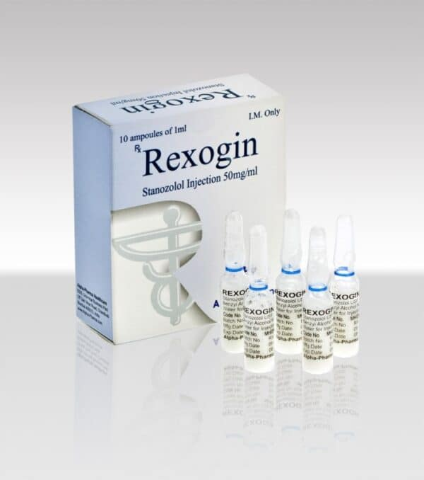 Rexogin 50mg Alpha Pharma Winstrol Depot