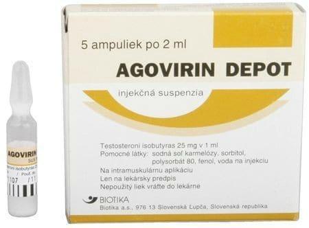 AGOVIRIN DEPOT (testosterone isobutyrate)