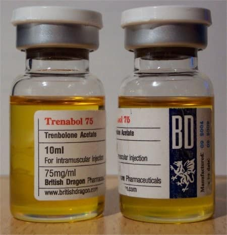Trenabol 75 British Dragon 10ml Vial