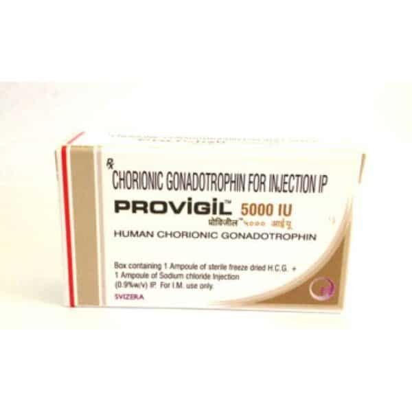 Provigil Injectable HCG 5000 IU