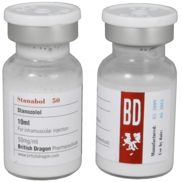 Stanabol 50mg British Dragon 10ml Vial