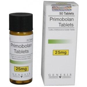 Primobolan Tablets Genesis 50 tabs [25mg/tab]