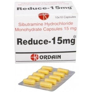 Reduce Ordain (sibutramine, meridia) 100 caps [15mg/cap]