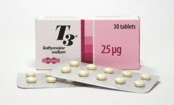 T3 UNI-PHARMA 30 tabs [25mcg/tab]