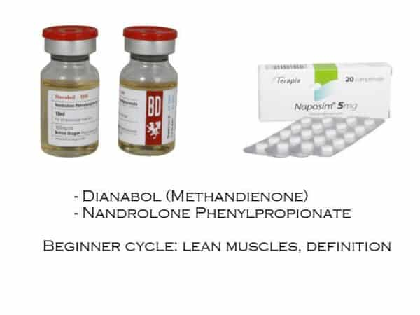 Beginner Steroid Cycle : Lean Muscles, Definition