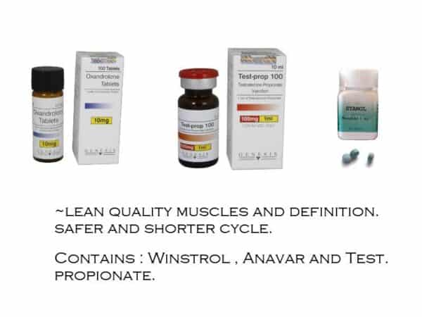 Steroid Cycle to build quality muscles and definition