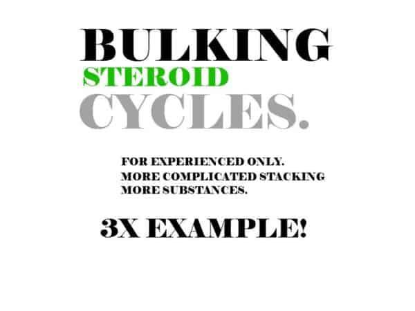 Gaining Mass (Bulking) Steroid Cycles