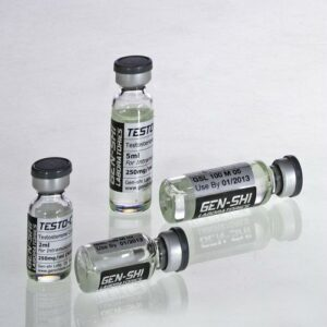 Testo-C 500MG/2ML Vial (Testosterone Cypionate) Gen-Shi, Japan