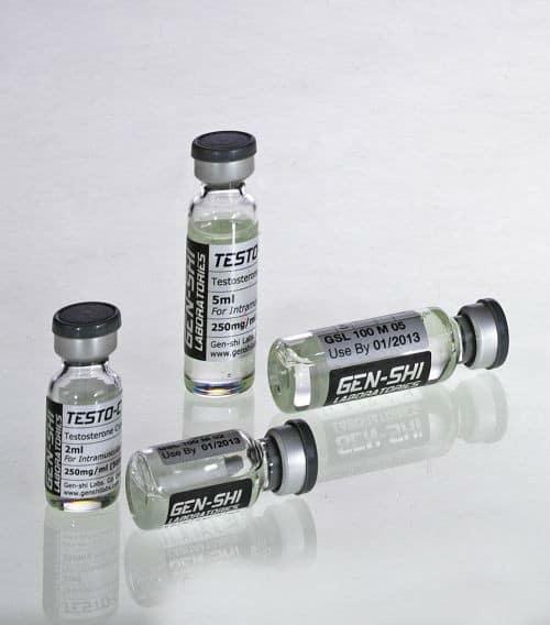 Testo-C 500MG/2ML Vial (Testosterone Cypionate) Gen-Shi, Japan