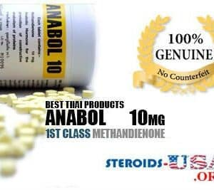 Anabol 10mg British Dispensary 500 Tablets