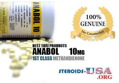 Anabol 10mg British Dispensary 500 Tablets
