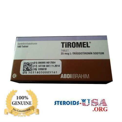 T3 Tiromel (Cytomel) Abdi Ibrahim 100 tab (25mcg/tab)