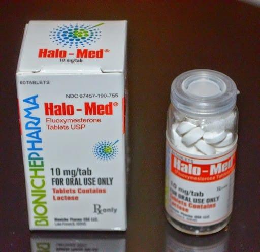 Halo-Med Bioniche Pharma (Halotestin) 60tabs (10mg/tab)