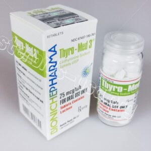 Thyro-Med 3 Bioniche Pharma (Liothyronine Sodium) 60tabs (25mcg/tab)