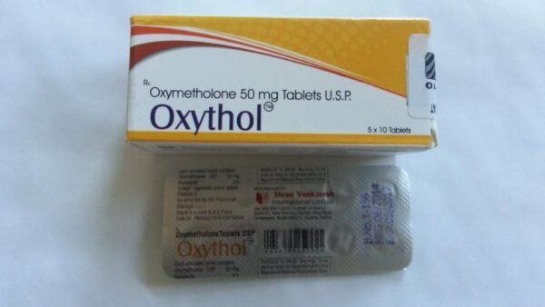 Oxythol Shree Venkatesh (Anadrol, Oxymethlone) 50tabs (50mg/tab)