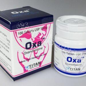 Oxa Titan HealthCare (Anavar, Oxandrolone) 100tabs (10mg/tab)
