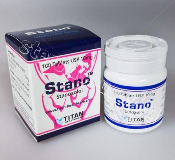 Stano Tablets Titan HealthCare (Stanozolol, Winstrol Pills) 100tabs (10mg/tab)