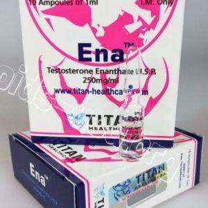 Ena Titan HealthCare (Testosterone Enanthate) 10amps
