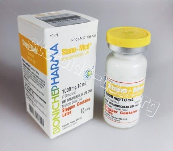 Stano-Med Bioniche Pharmacy (Winstrol Depot, Stanozolol) 10ml (100mg/ml)