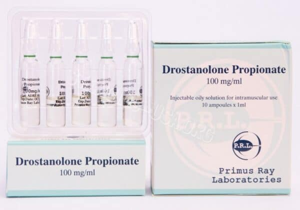 Masteron [Drostanolone Propionate] Primus Ray Labs 10X1ML [100mg/ml]