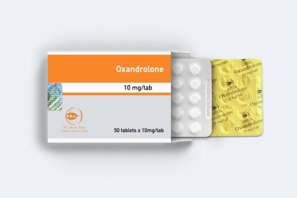 Anavar [Oxandrolone] Primus Ray Labs 50tabs [10mg/tab]