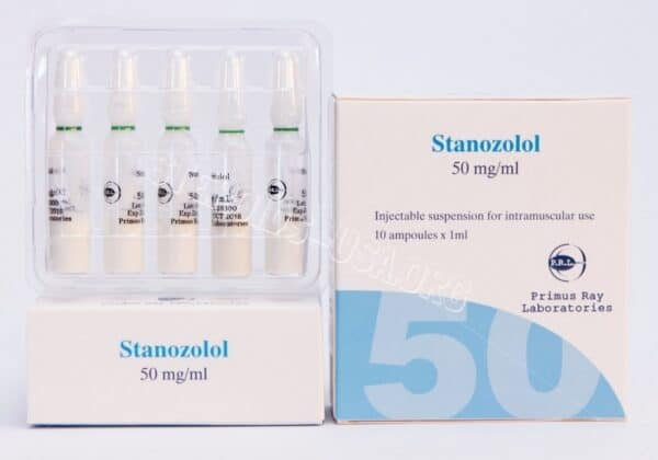 Winstrol Depot [Stanozolol Injection] Primus Ray Labs 10X1ML [50mg/ml]