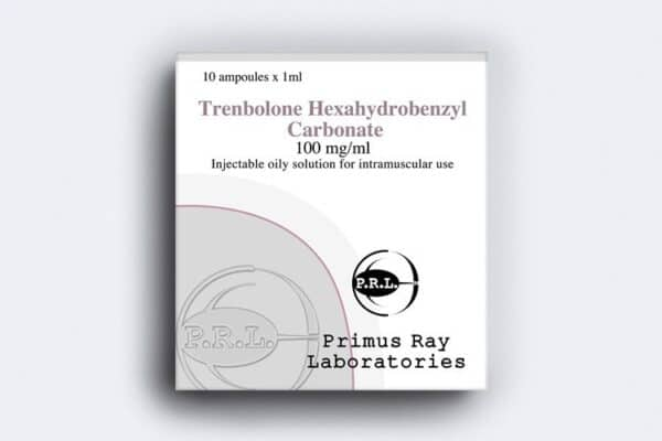 Trenbolone Hexahydrobenzylcarbonate Primus Ray Labs 10X1ML [100mg/ml]