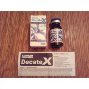 DecateX Biosira - Nandrolone Decanoate 10ml (300mg/ml)