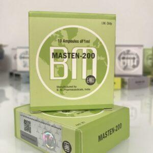 Masten 200 (Drostanolone Enanthate) BM Pharmaceutical 10ML [10X1ML/200mg]