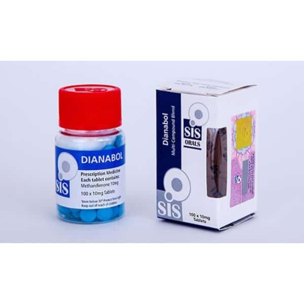 DIANABOL 10 SIS labs (Methandrostenolone) 100 tabs [10mg/tab]