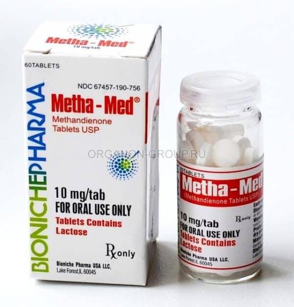 Metha-Med Bioniche [Dianabol] 120 tabs [10mg/tab]