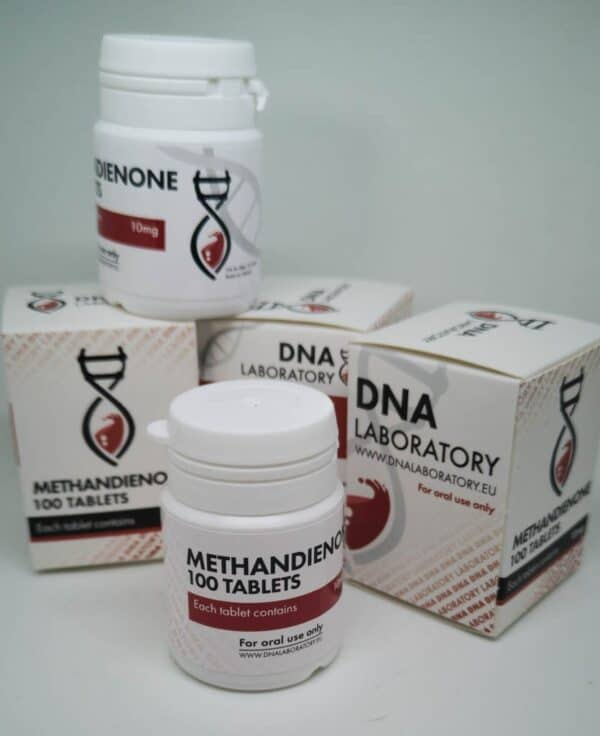 Methandienone [Dianabol] DNA labs 100 tabs [10mg/tab]