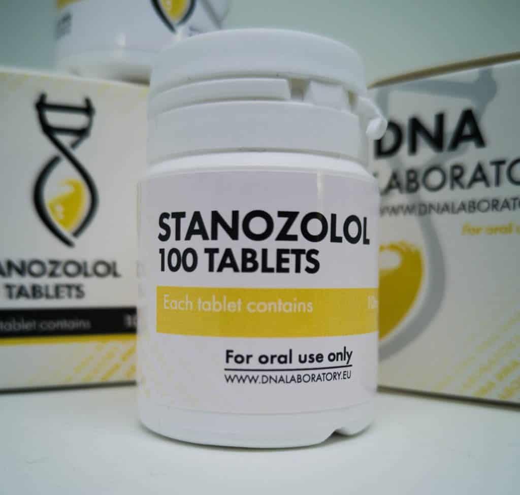 Stanozolol [Winstrol] DNA labs 100 tabs [10mg/tab]