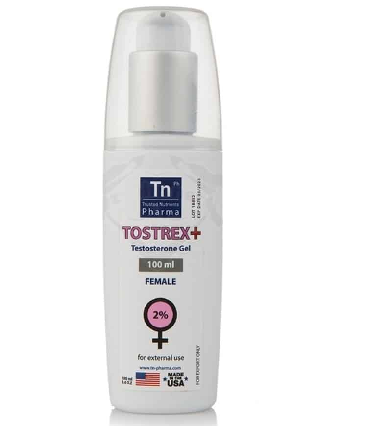 Androgel Tostrex + Female (Testosterone Gel 2%) - 100ml Steroids-USA.ORG