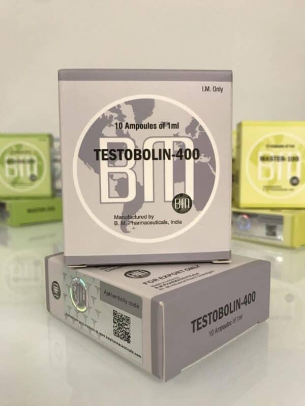 Testobolin 400 BM Pharmaceuticals 10X1ML [400mg/ml]