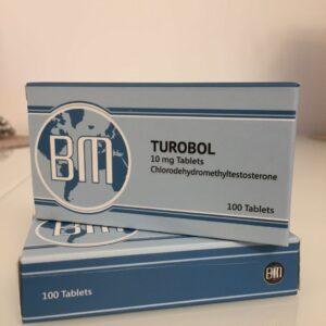 Turobol BM Pharmaceuticals 100 tabs [10mg/tab]