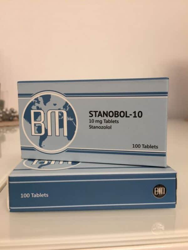 Stanabol-10 BM Pharmaceuticals 100 tabs [10mg/tab]