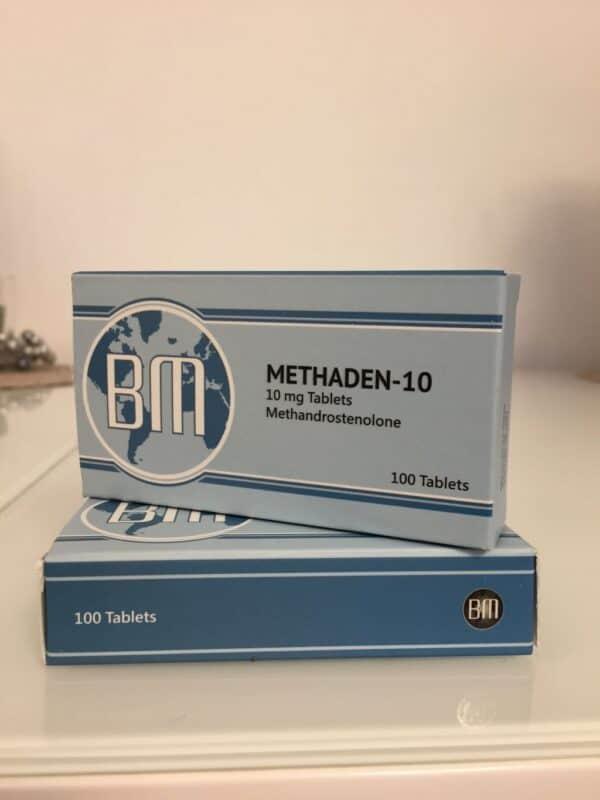 Methaden-10 BM Pharmaceuticals 100 tabs [10mg/tab]
