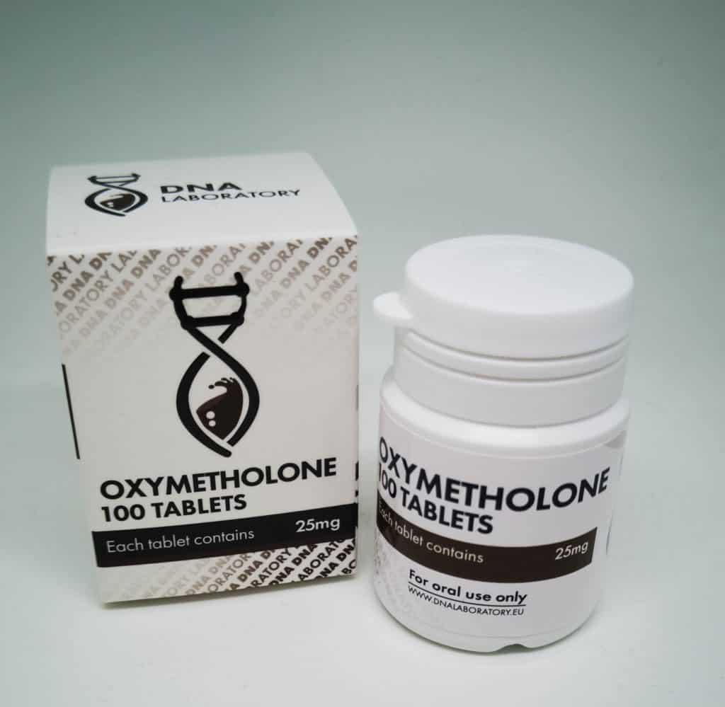 Anadrol [Oxymetholone] DNA 100 tabs [25mg/tab]