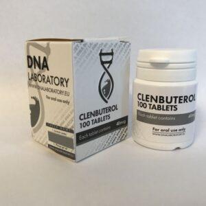 Clenbuterol DNA Laboratory 100 tabs [40mcg/tab]