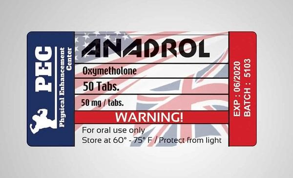 Anadrol 50mg