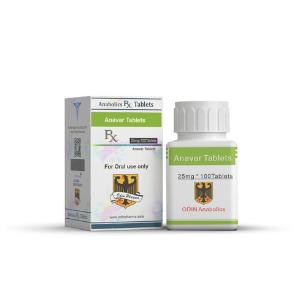 Anavar Odin Pharma 25