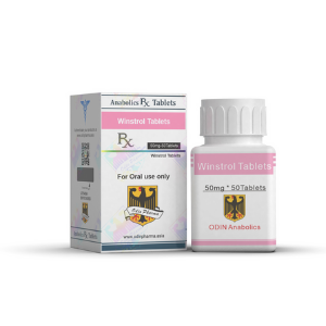 Winstrol Tablets 50 Odin Pharma